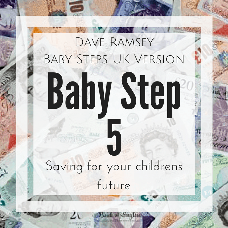 Baby Step 5 Dave Ramsey UK