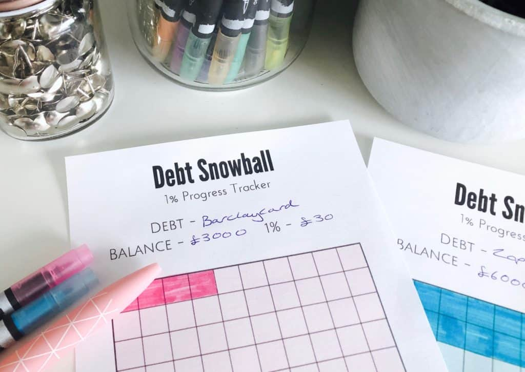Debt snowball tracker