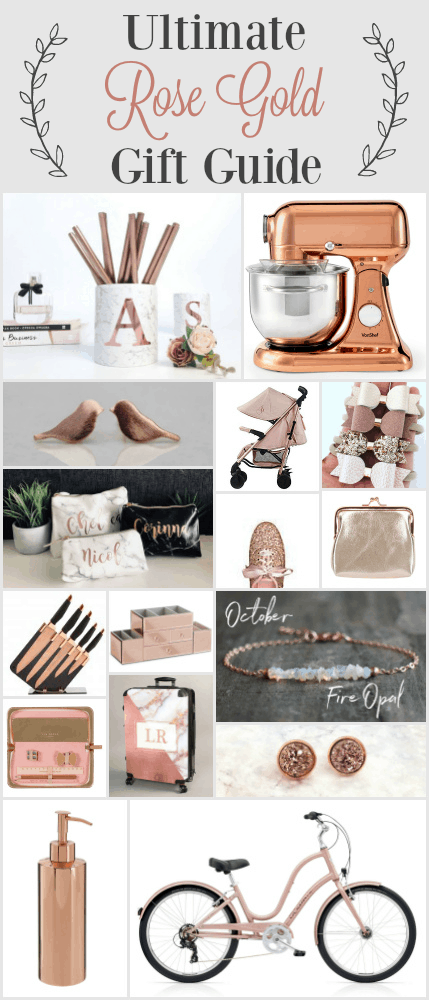 The Ultimate Rose Gold Gift Guide full of items that you didn't even know you wanted or needed! Rose Gold is the trend that keeps trending. Here's why by Charlotte at charlottemusha.co.uk #giftguide #RoseGold #BestPrice
