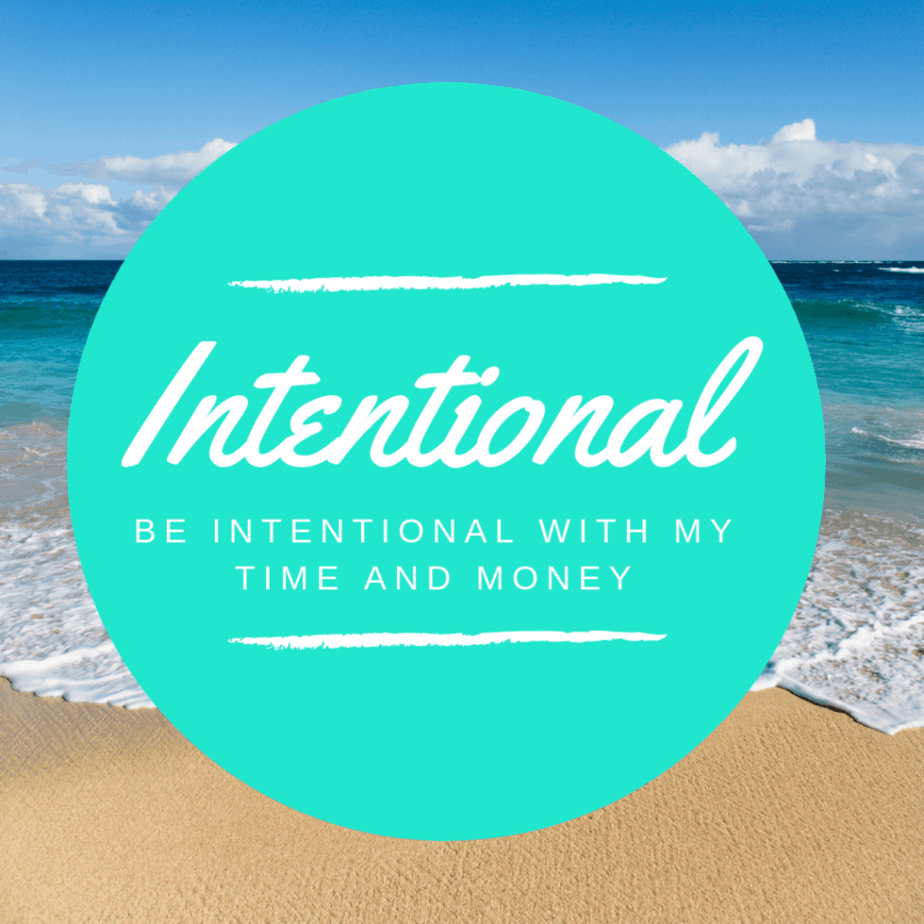 Anti-Resolution Movement Word for the Year 2019 #Intentional Be intentional with time and money. Complete the #DaveRamsey #debtsnowball and #sinkingfunds #finance #money