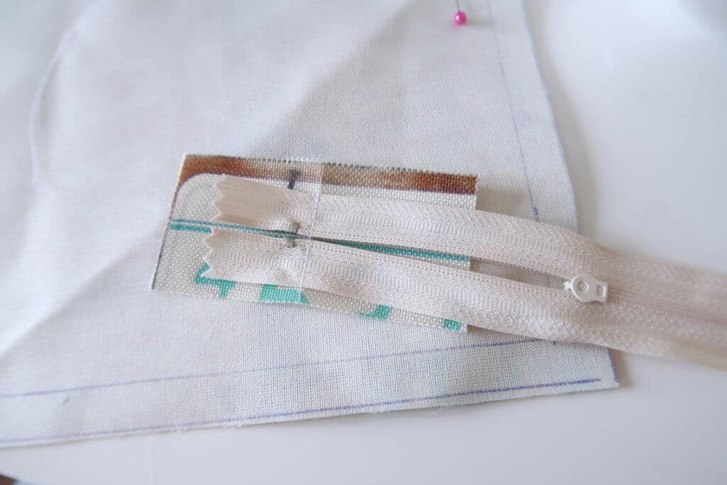 Zipper Tabs for Cushion