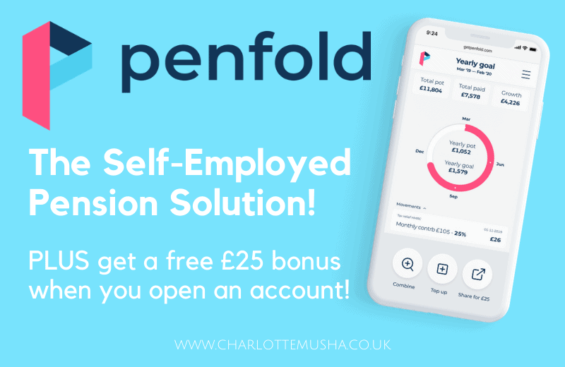 Self-employed pensions with Penfold