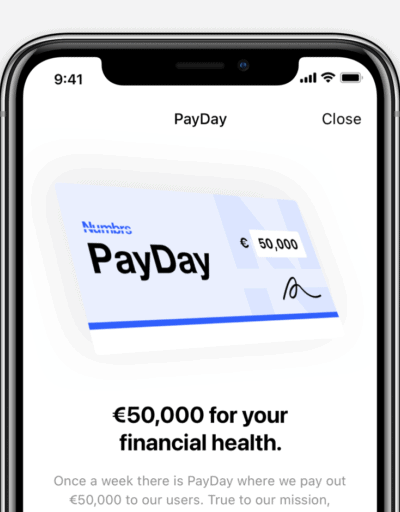Numbrs PayDay - win big on the Numbrs app